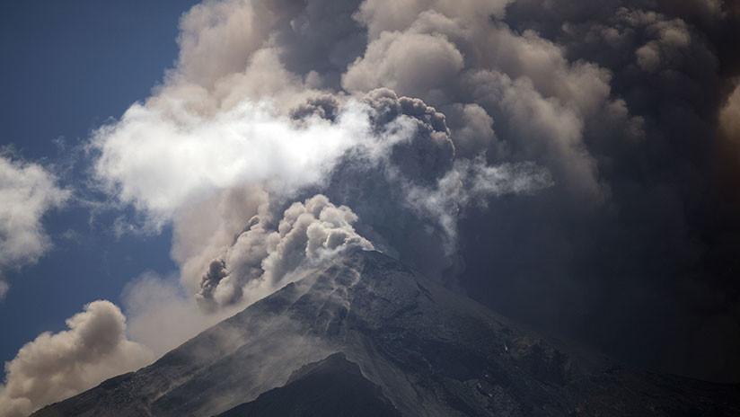 La explosión en el Volcán de Fuego en Guatemala puede ser la señal de una nueva etapa de actividad