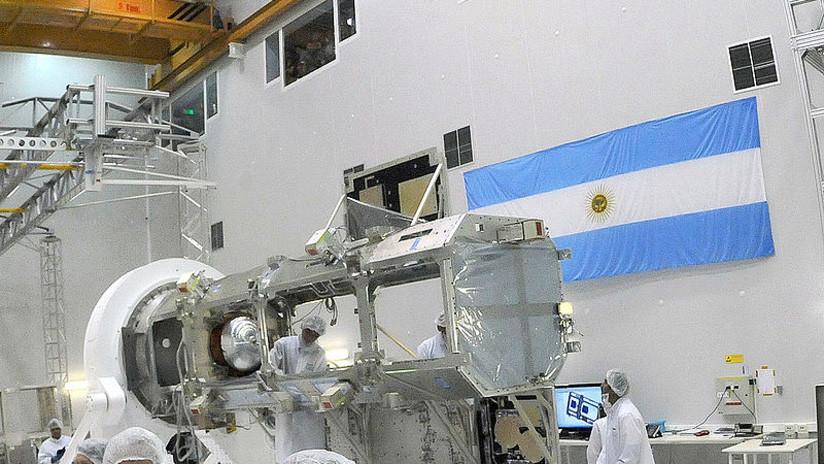 Argentina presenta su nuevo satélite para medir desastres naturales