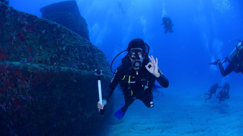 Un cazador de tesoros hace un extraño hallazgo en el Triángulo de las Bermudas