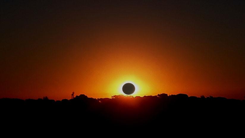 Dónde y cuándo ver este 11 de agosto el último eclipse solar del año