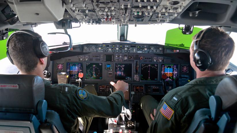 """""""Salgan de inmediato"""": Avión de EE.UU. recibe seis advertencias sobre el mar de la China Meridional"""