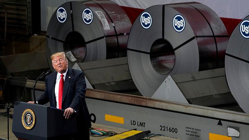 Trump autoriza duplicar los aranceles al acero y el aluminio de Turquía