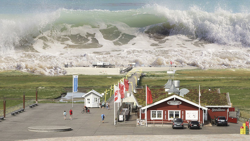 VIDEOS, FOTOS: Cae un 'tsunami' de nubes en EE.UU.