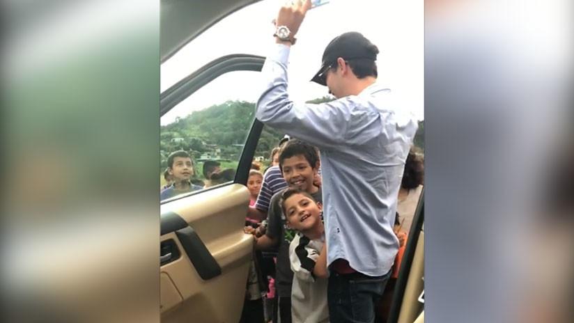 VIDEO: Guatemalteco le pone una causa social al 'Kiki Challenge' y la Red se emociona