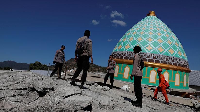 Indonesia: La isla de Lombok se elevó 25 centímetros por el mortífero terremoto (MAPA)