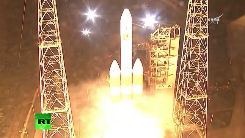VIDEO: La NASA lanza la primera nave espacial que 'tocará' el Sol