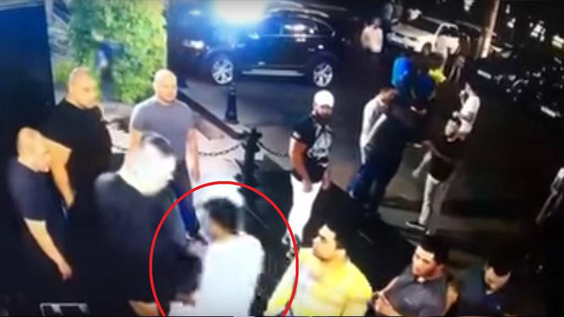 FUERTE VIDEO (18+): Campeón de MMA muere en una pelea con guardias de un club