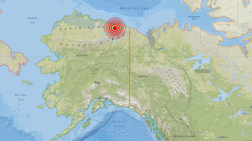 Sismo de magnitud 6.5 estremece a Alaska
