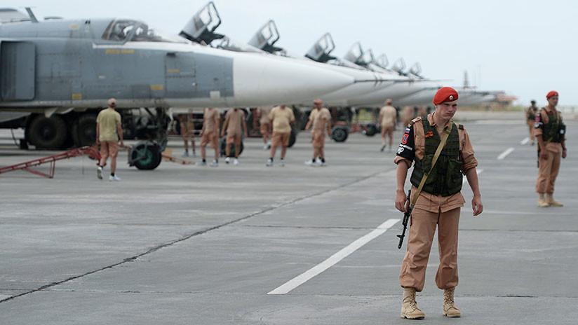 Rusia derriba dos drones lanzados contra su base aérea en Siria