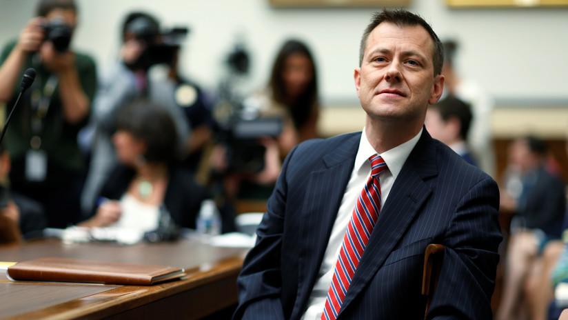 Despiden del FBI al agente Peter Strzok