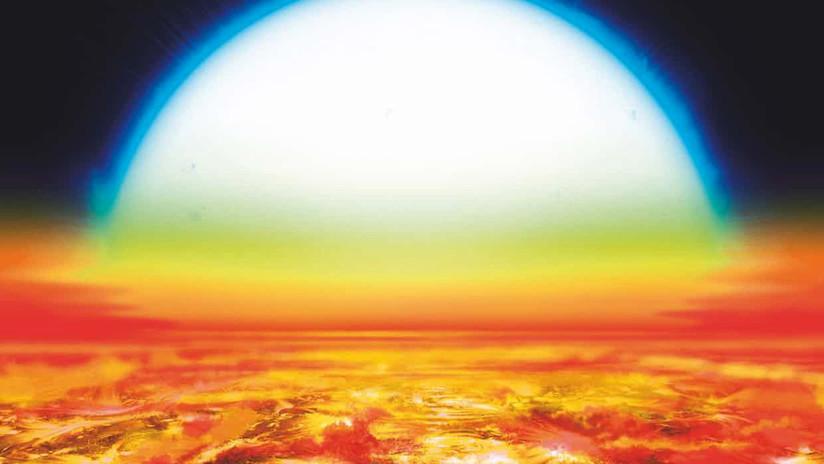 Infernal: Los astrónomos descubren un exoplaneta con nubes de hierro y titanio