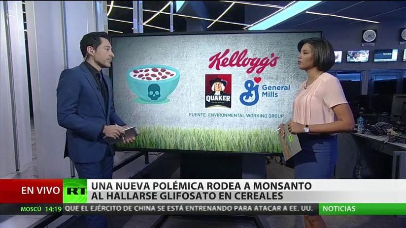 Monsanto, nuevamente envuelto en la polémica al hallarse glifosato en cereales