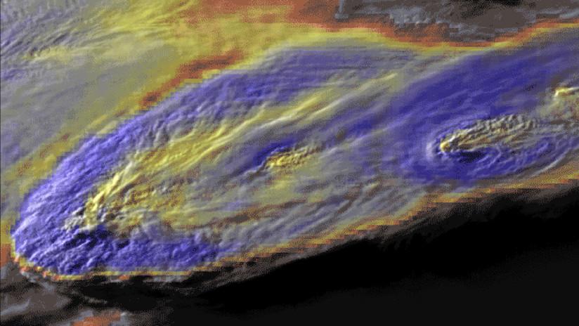 Fotos de la NASA muestran 'tormentas con penacho' que provocan severos fenómenos meteorológicos