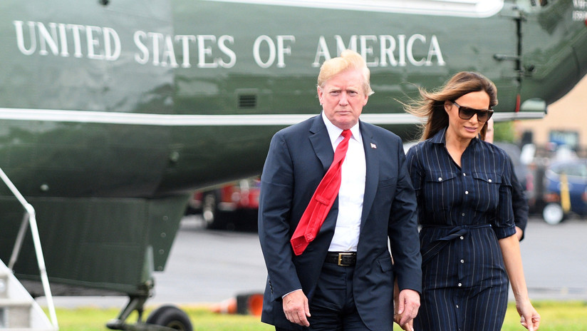 Reportan que Trump intentó disuadir a Melania de impulsar la campaña contra el ciberacoso 'Be Best'