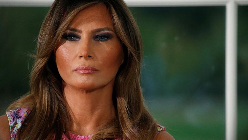 """Omarosa: El """"vengativo"""" Trump deportaría a Melania si se divorciara de él durante su mandato"""