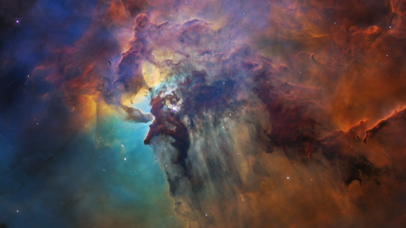 """FOTO: El telescopio espacial Hubble capta el """"fuego y la furia"""" del nacimiento de las estrellas"""