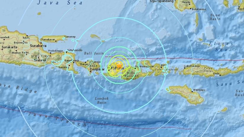 Tres sismos sacuden la misma zona de Indonesia en media hora