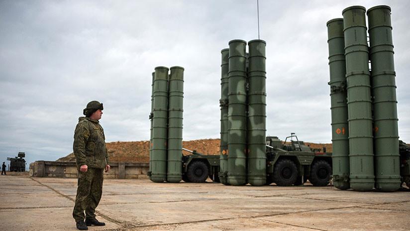 Rusia abarata para la India los sistemas de misiles antiaéreos S-400 Triumf