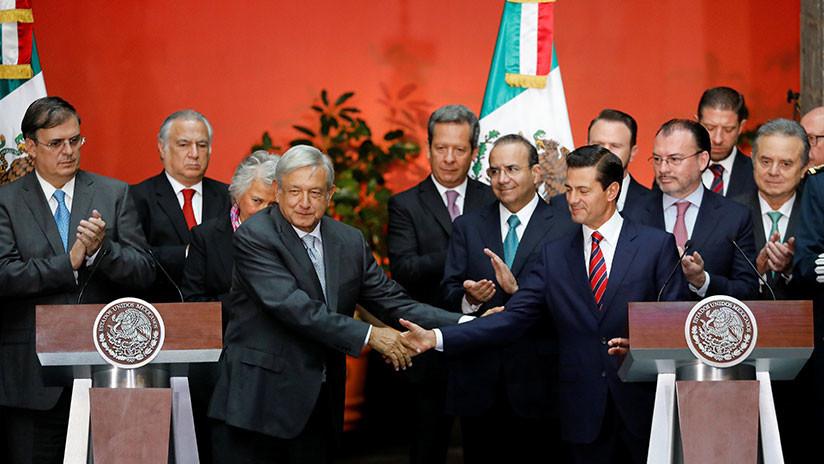 Inician formalmente AMLO y Peña Nieto transición de gobierno