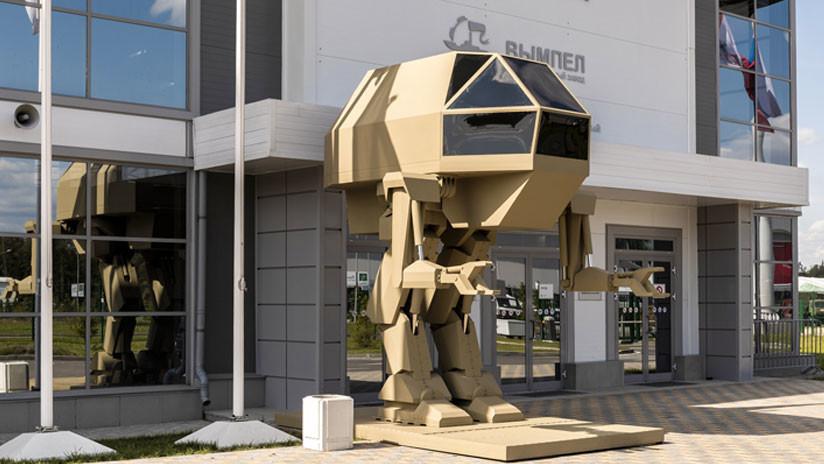 FOTOS: Kaláshnikov crea un robot de combate de 4 metros