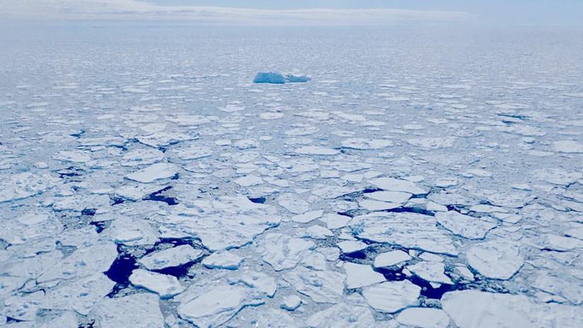 Los grandes hielos del Ártico se rompen y la situación aterra a los científicos