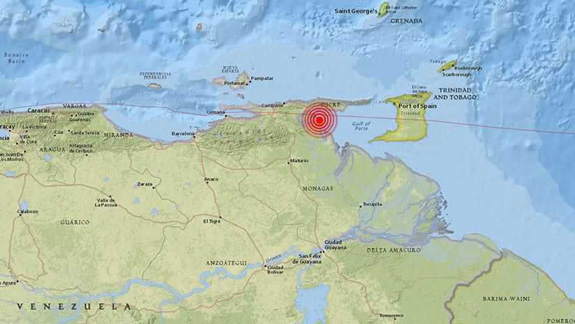 Reportan fuerte temblor en Venezuela