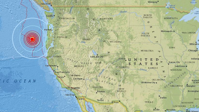 EE.UU.: Un sismo de magnitud 6,2 sacude Oregón