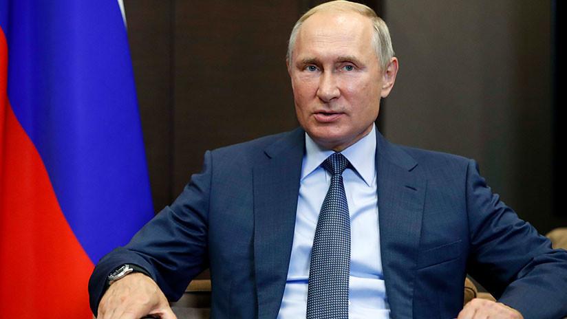 """Putin: """"Moscú no despliega fuerzas fuera de sus fronteras mientras la OTAN se acerca a Rusia"""""""