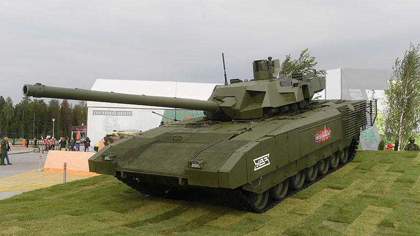 Gran calibre: ¿Qué puede darle al tanque ruso Armata un nuevo cañón de 152 mm?
