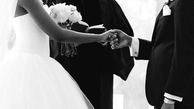 Una mujer con una enfermedad letal se muere en su propia boda (VIDEO)