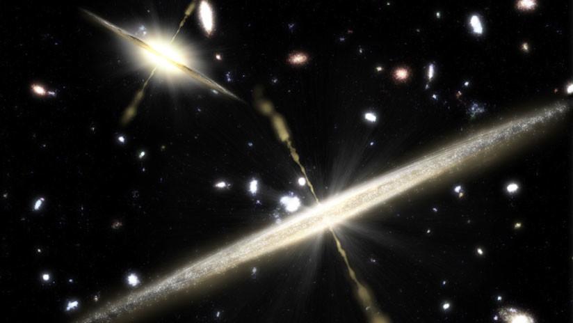 Físicos detectan los 'fantasmas' de agujeros negros de otros universos
