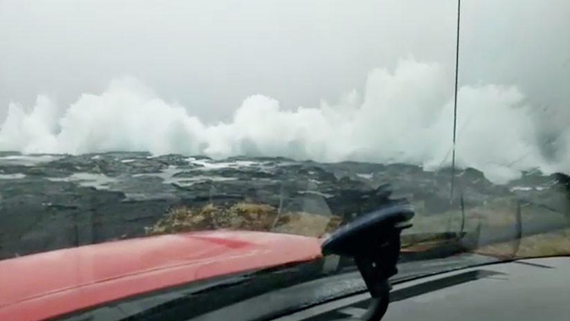 EE.UU.: Alerta de huracán para la isla Oahu ante la inminente llegada del Lane a Hawái