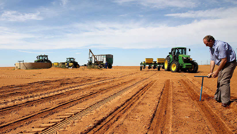 """Confiscan tierras a agricultores en Sudáfrica y Trump ordena a Pompeo """"estudiarlo de cerca"""""""