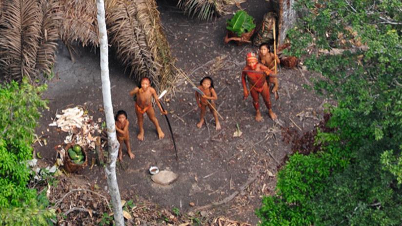 Drones captaron a una tribu aislada en la Amazonia brasileña