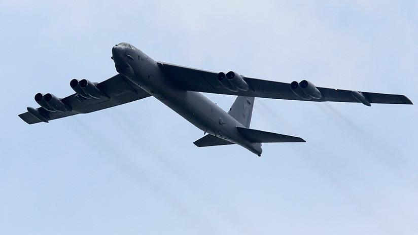 Un bombardero de EE.UU. cruza la zona de identificación de defensa aérea de China