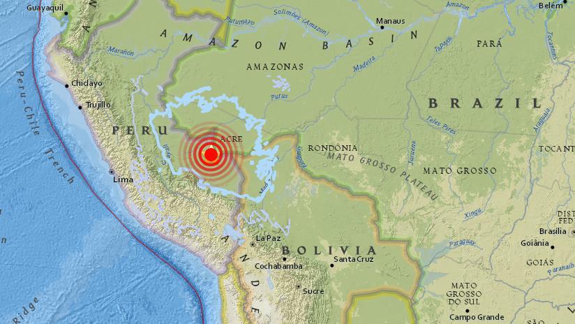 Se registra en Perú un sismo de 7,1