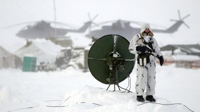 Rusia comienza la construcción de una enorme base de defensa aérea en el Ártico