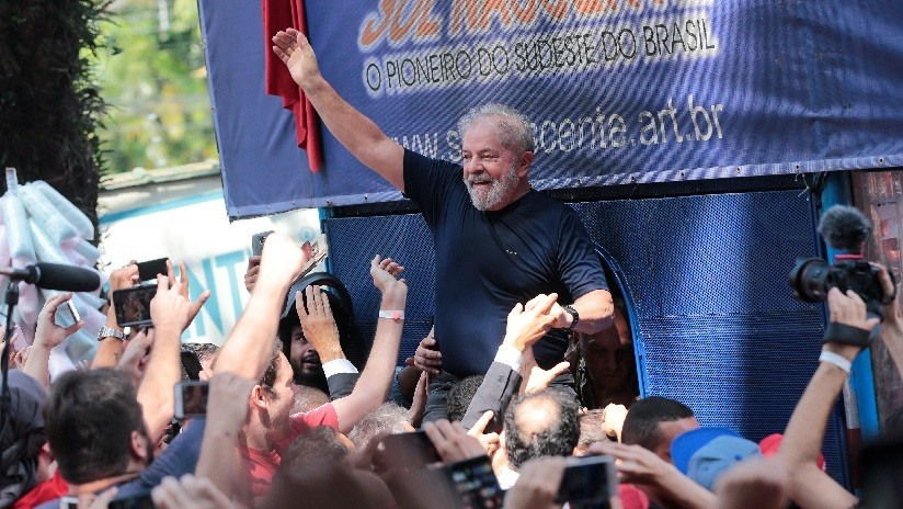 Tribunal Electoral de Brasil pone en duda candidatura de Lula da Silva