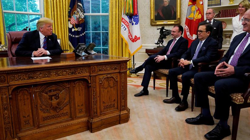Canciller Luis Videgaray: México no pagará por el muro fronterizo tras acuerdo comercial con EE.UU.