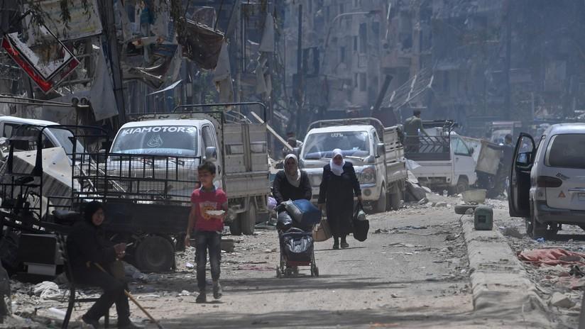 """Moscú: """"El ataque químico simulado en Siria pretende impedir la expulsión de Frente Al Nusra"""""""