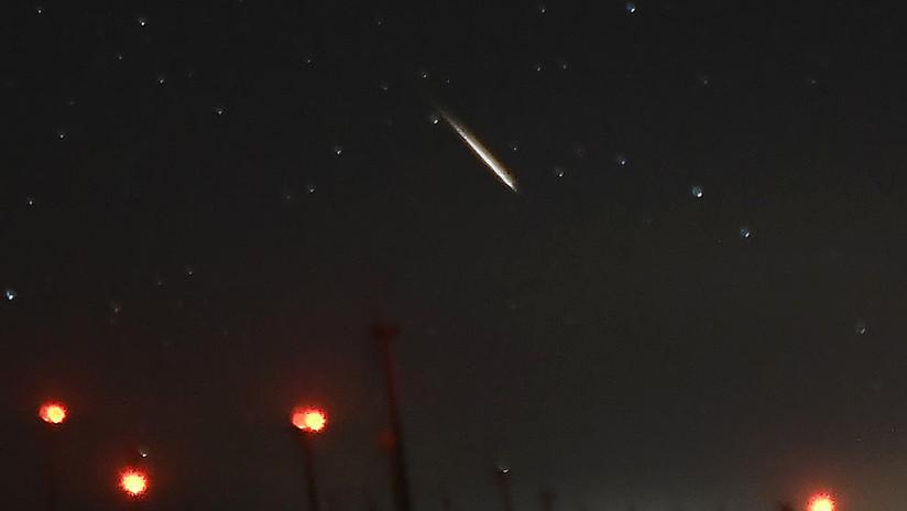 """""""Como si el cielo se cayera"""": Un meteoro siembra el pánico en el oeste de Australia (VIDEO)"""
