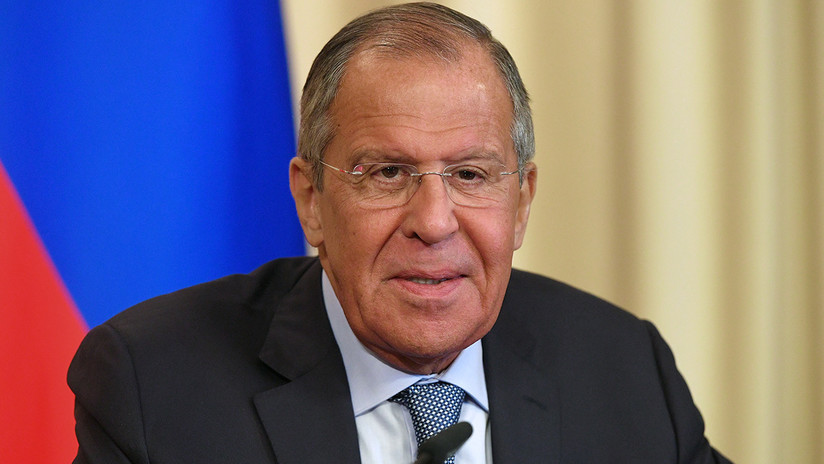 """Lavrov: """"Se dan todas las condiciones para empezar a restablecer la normalidad en Siria"""""""