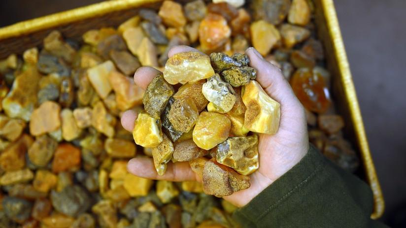 El ámbar siciliano se utilizaba en el comercio 2.000 años antes que el báltico