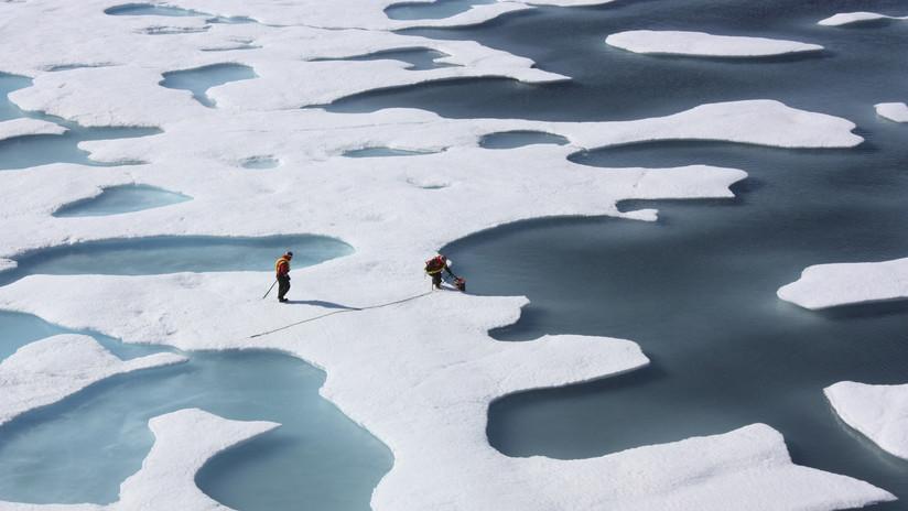 """Descubren una """"bomba de relojería"""" que pone en peligro al Ártico"""