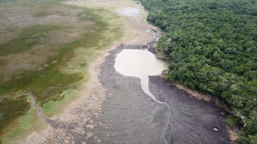Desaparece una laguna en México en menos de 24 horas por una fractura en el suelo