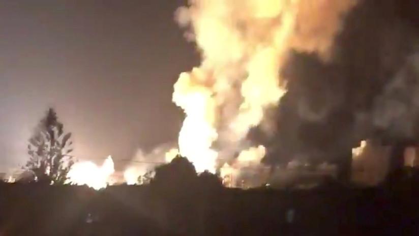 VIDEO: Explosión en una subestación eléctrica en Venezuela
