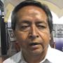 Efraín Aretaga, representante legal de pobladores de Salaverna