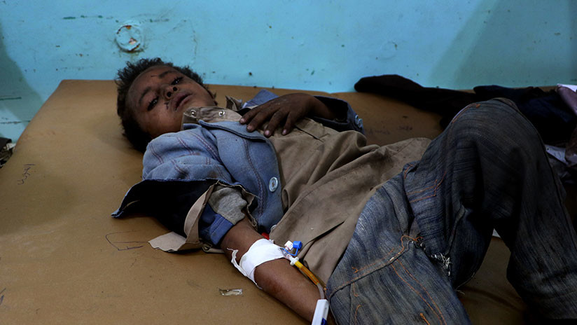 Cruz Roja - Mueren 29 niños en ataque Arabia