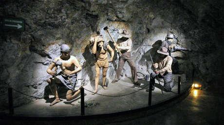 El museo de la mina El Edén de Zacatecas representa las condiciones de trabajo de los mineros a lo largo de varios siglos.