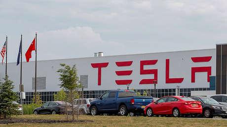 La fábrica de Tesla Gigafactory 2, en Búfalo, Nueva York.